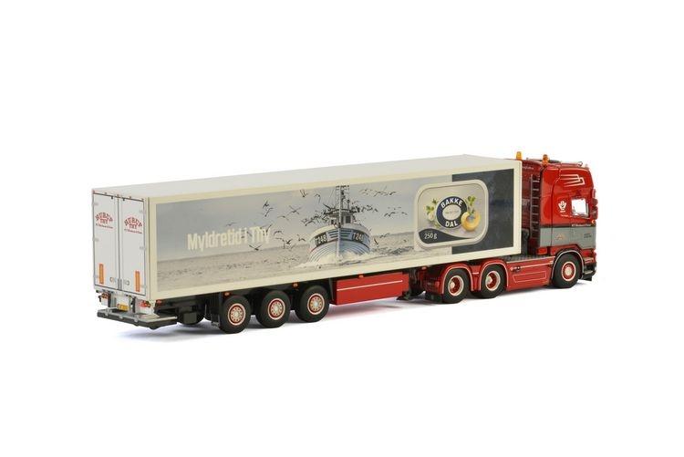 Scania Streamline  Kuehlauflieger  N.C. Christensen & Son