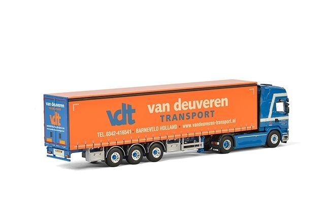 Scania Streamline  Planenauflieger Van Deuveren Transport