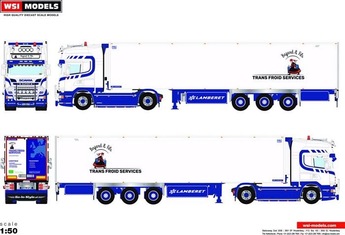 Scania Streamline  Reefer   Bajard et Fils