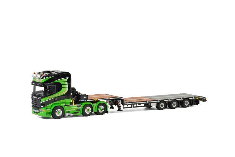 Scania Streamline Semi Lowloader Gebr. Blankespoor