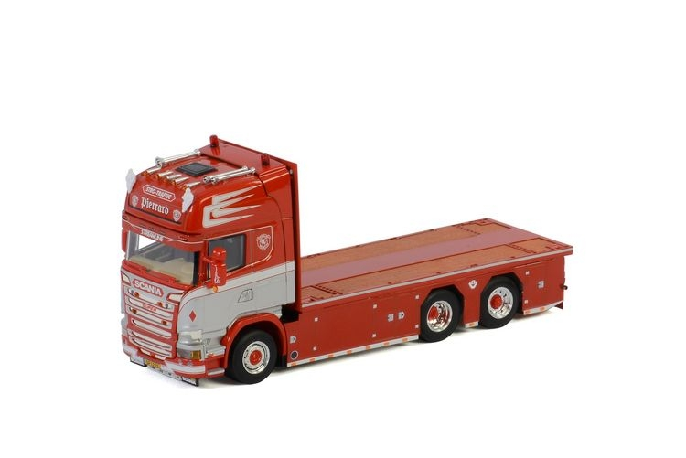 Scania Streamline Topline 6X2  Riged Flat Bed Transports Pierrar