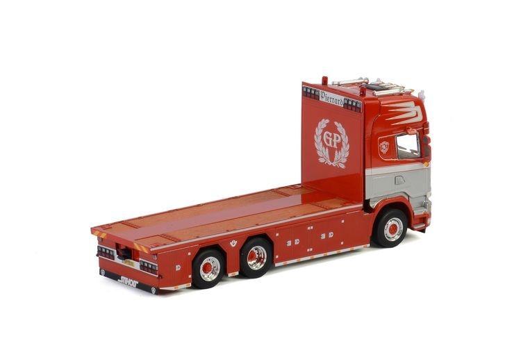 Scania Streamline Topline 6X2  Riged Flat Bed Transports Pierrar