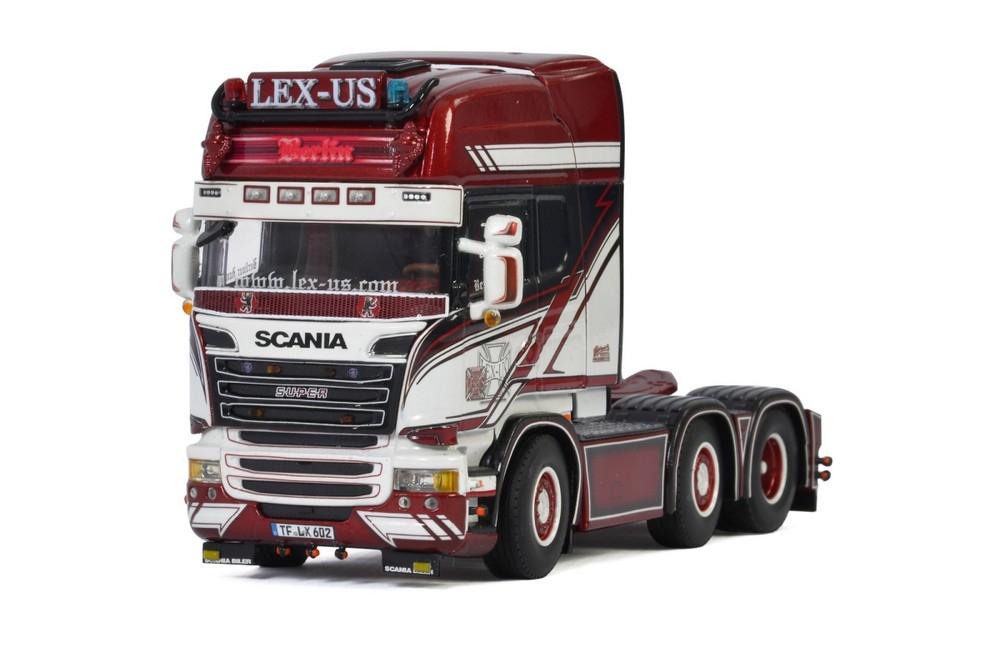 Scania Streamline Topline 6X2 Twin Steer German Supertrucks LEX-