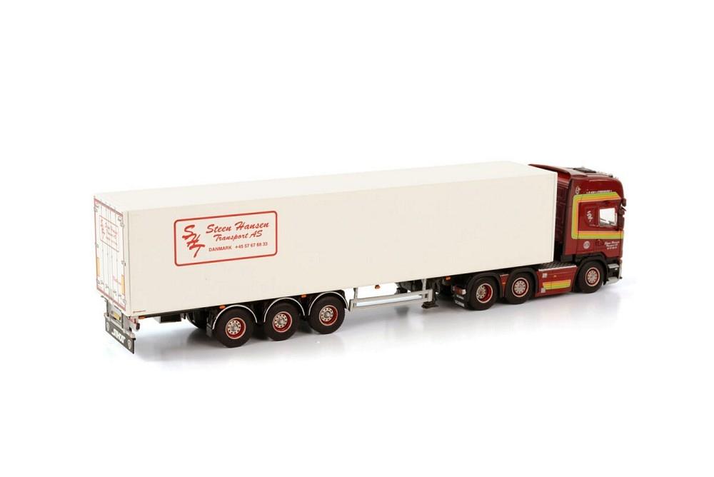 Scania Streamline Topline Box Trailer  Steen Hansen