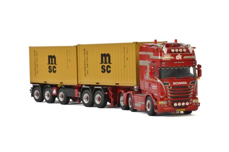 Scania Streamline Topline Combi  Container H. de Klerk Transport