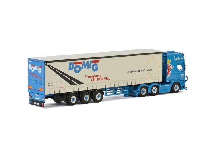 Scania Streamline Topline Planenauflieger  Domig