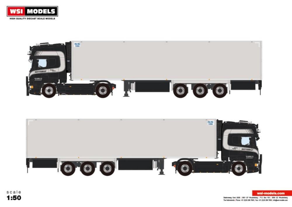 Scania Streamline Topline  Reefer  Transports Bottreau
