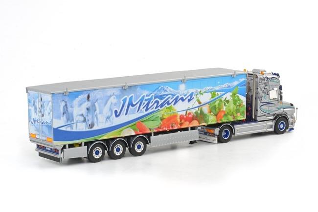 SCANIA T Topline Cargo Floor Oplegger JM trans