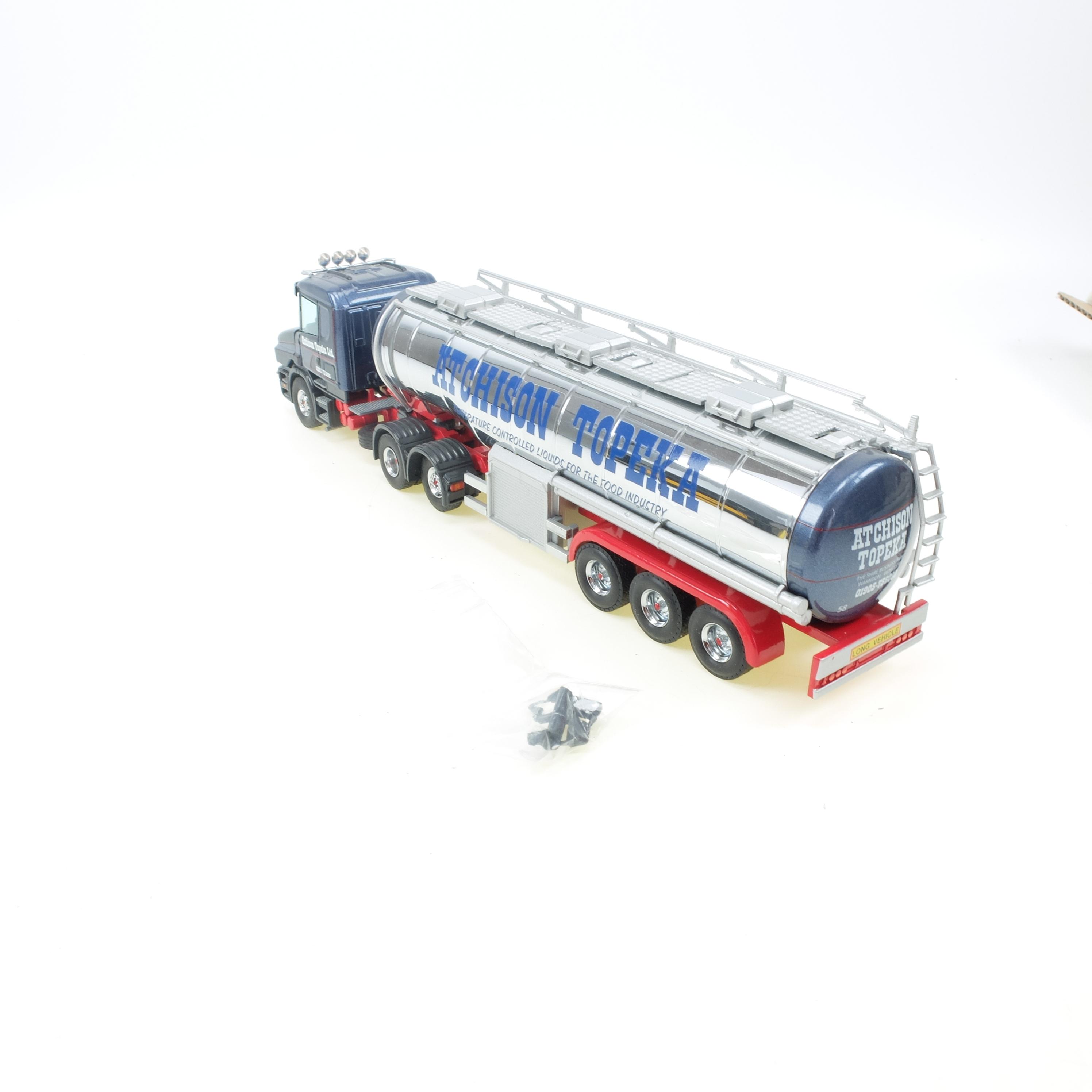Scania T124 400 mit Tank Auflieger Atchinson Topeka
