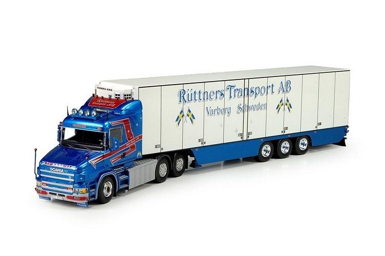 Scania T4  Kuehlauflieger Ruttner