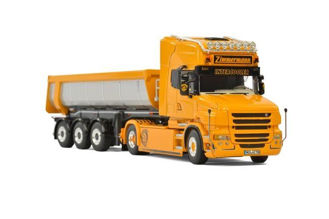 Scania T5 Halfpipe Tipper  Zimmermann