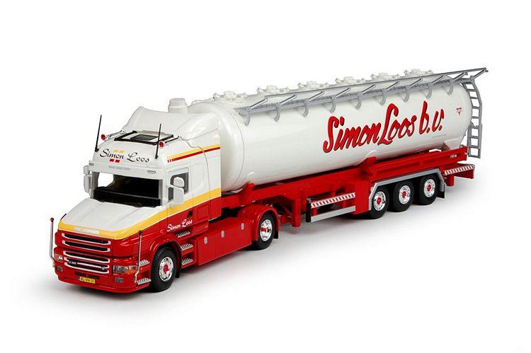 Scania T5  Highline Silo-Auflieger Loos Simon