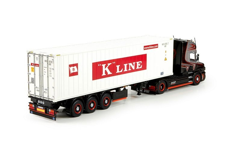 Scania T5 Topline 40ft container Regis