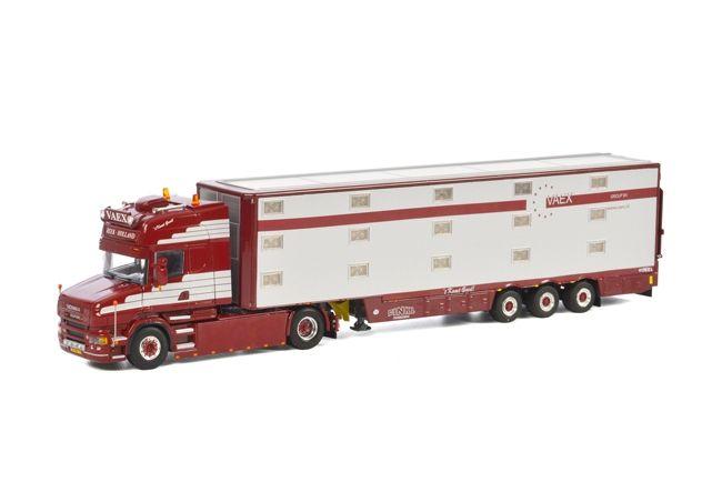 Scania T5 Viehauflieger 3 Achs Vaex