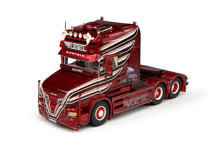 Scania T6 Topline Vögel