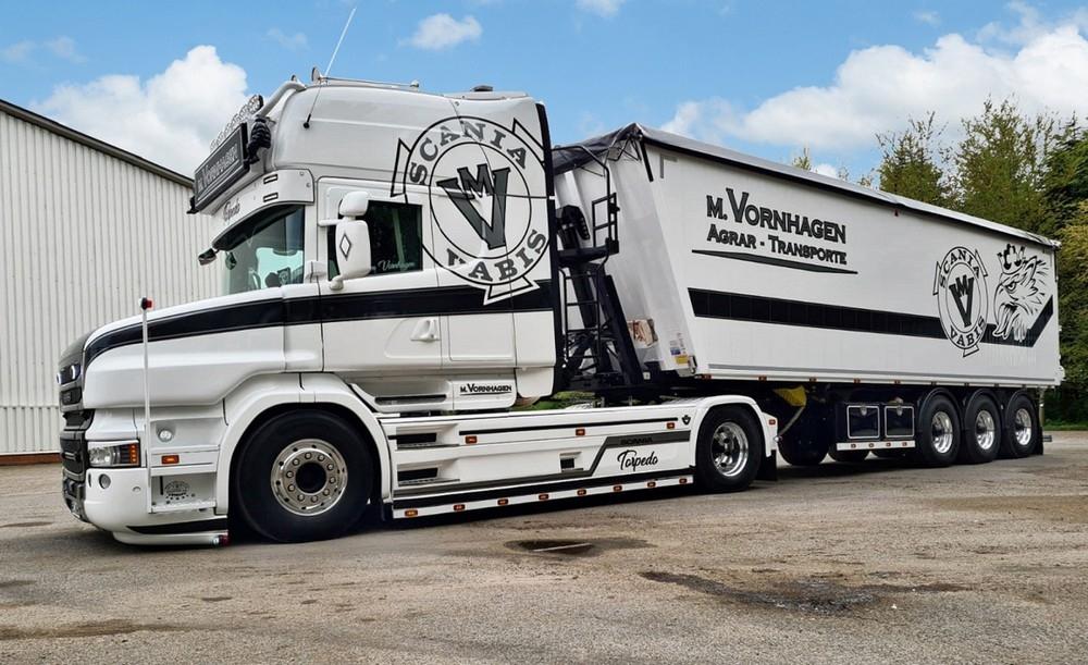 Scania T6 Torpedo  Volume Tipper   M. Vornhagen