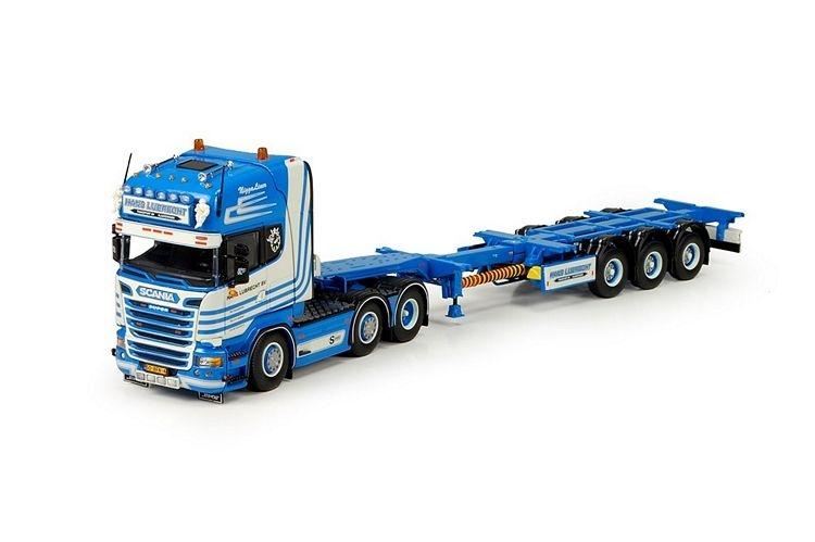 Scania Topline 6x2  D-tec Flexitrailer lubrecht Hans