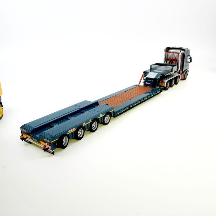 Scania topline 8x4 BROUWER eurolowloader 4axles