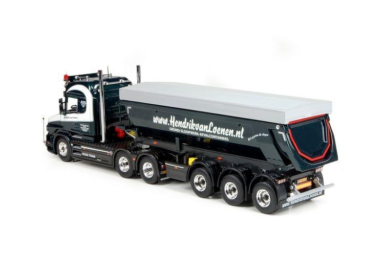 Scania Torpedo Highline tipper Loenen Henrik van