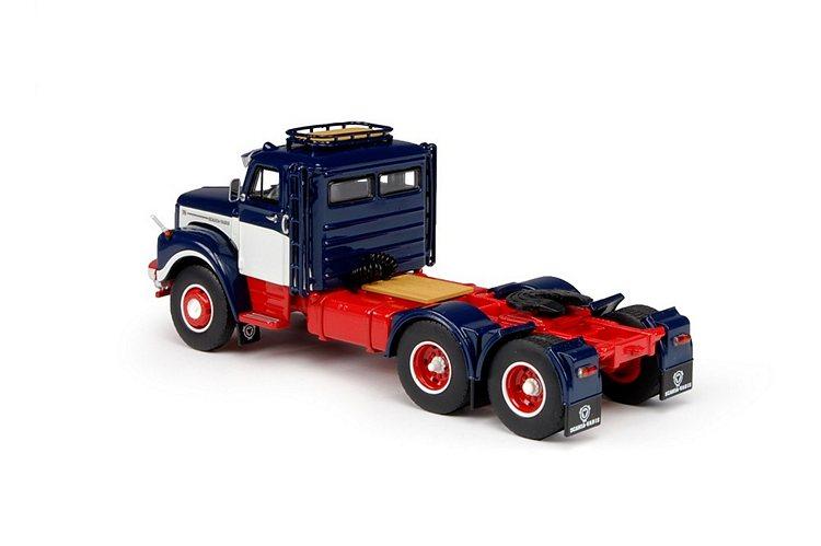 Scania Vabis L 76 BeGe Schlafkabine 6x2