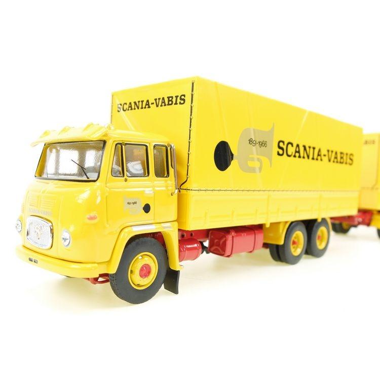 Scania-Vabis LBS 76  Planenanhaenger