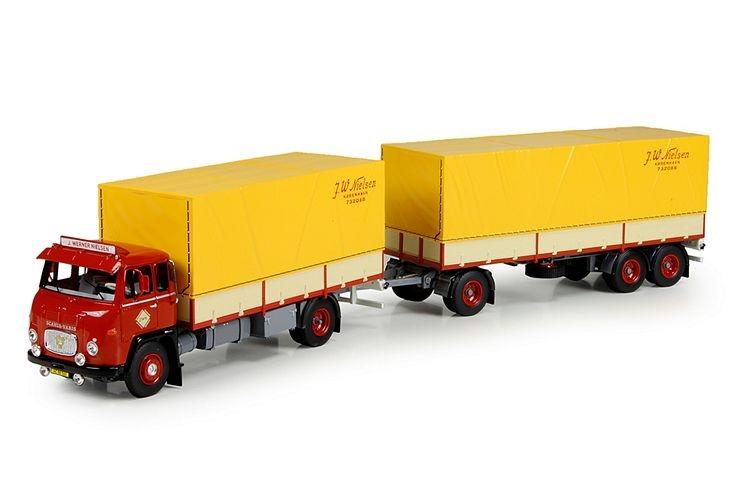 Scania Vabis motorwagen  Nielsen Werner