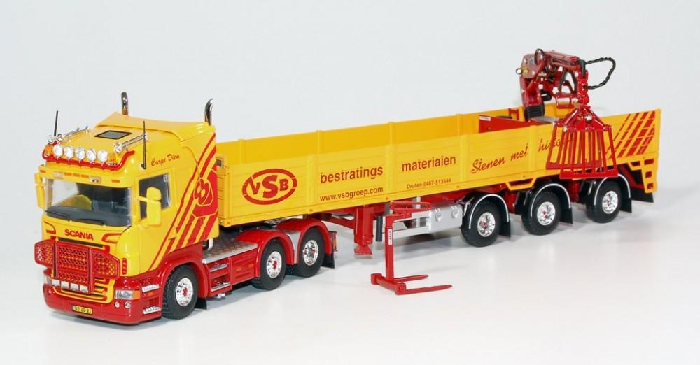 Scania VSB mit Stein Auflieger