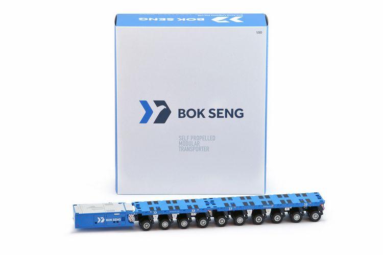 Scheuerle SPMT 6 + 4 + PPU Bok Seng