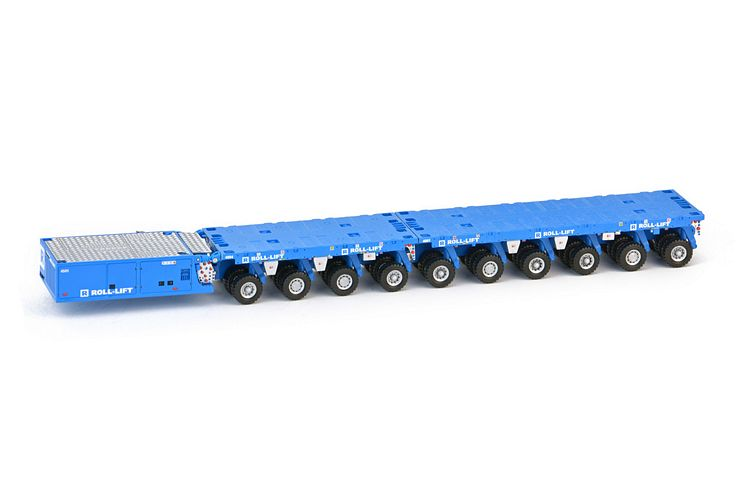 Scheuerle SPMT 6 SPMT 4 axle  PPU Roll-Lift