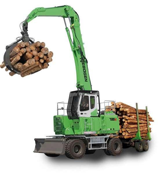 Sennebogen 735 E Holzumschlag