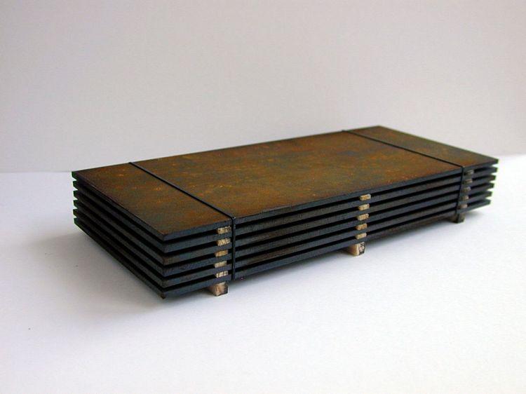 Stahlplattenstapel M