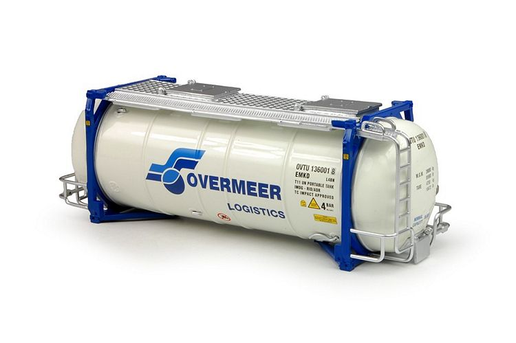 Swap tankcontainer Overmeer