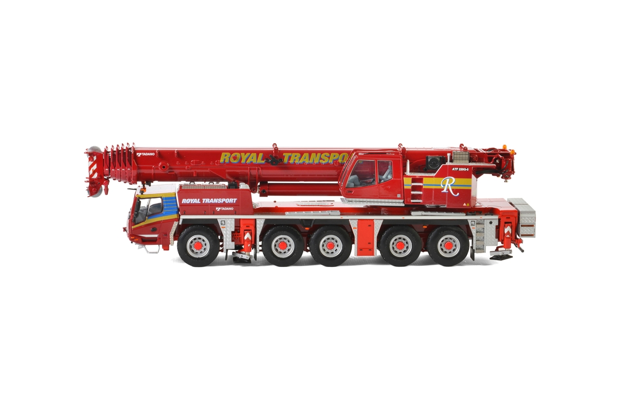 Tadano ATF220G-5 Euro 4 Royal Transport