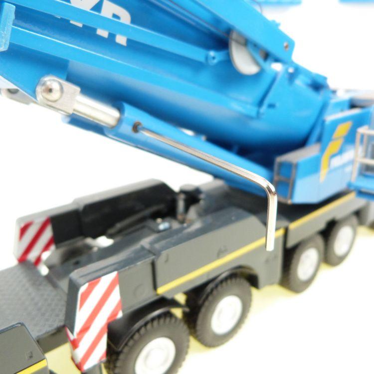 Terex AC 500-2 SSL Felbermayr mit Hilfsausleger + ycc Hydraulik