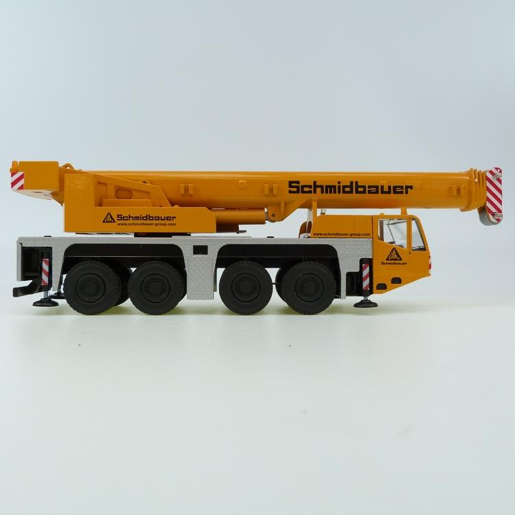Terex Demag AC 100/4 Schmidbauer Conrad Modelle 1:50 con 2104/smd 1