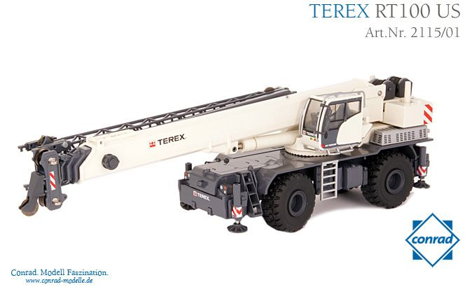 Terex RT 100 US Rough Terrain Kran
