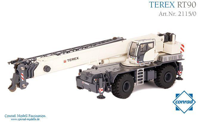 Terex RT 90 Rough Terrain Kran