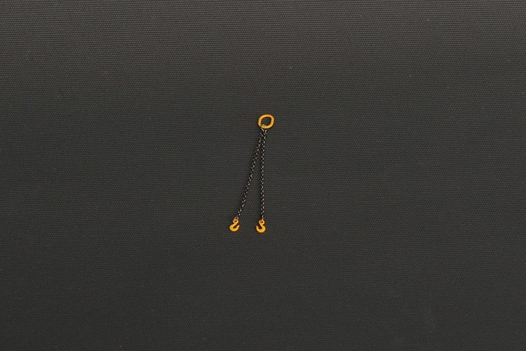 Two Chain Slings 6cm  Yellow