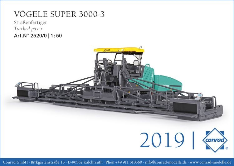 Voegele Super  3000-3 Tracked paver