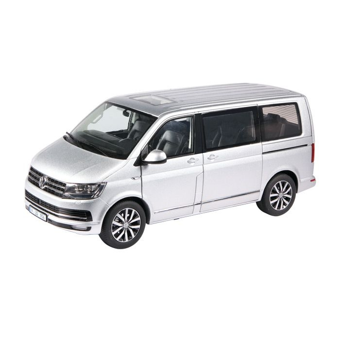 volkswagen multivan t6 highline silver nzg 1 18 nzg 954 55 1. Black Bedroom Furniture Sets. Home Design Ideas