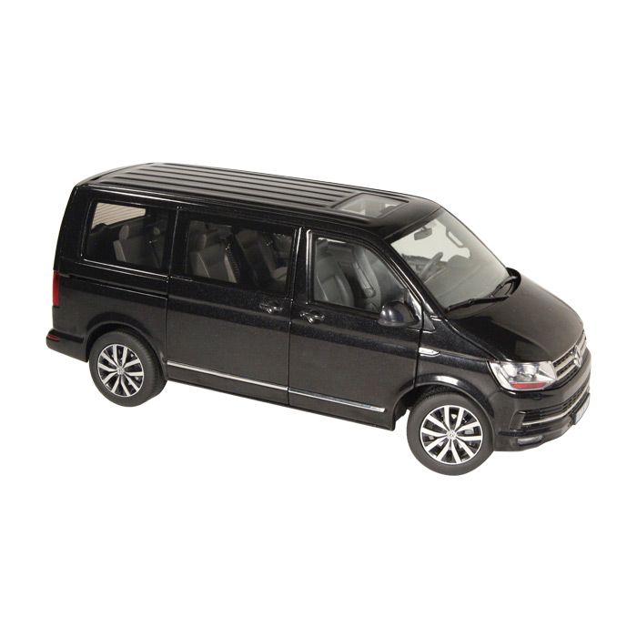 volkswagen t6 multivan highline schwarz 1 18 nzg 1 18 nzg. Black Bedroom Furniture Sets. Home Design Ideas