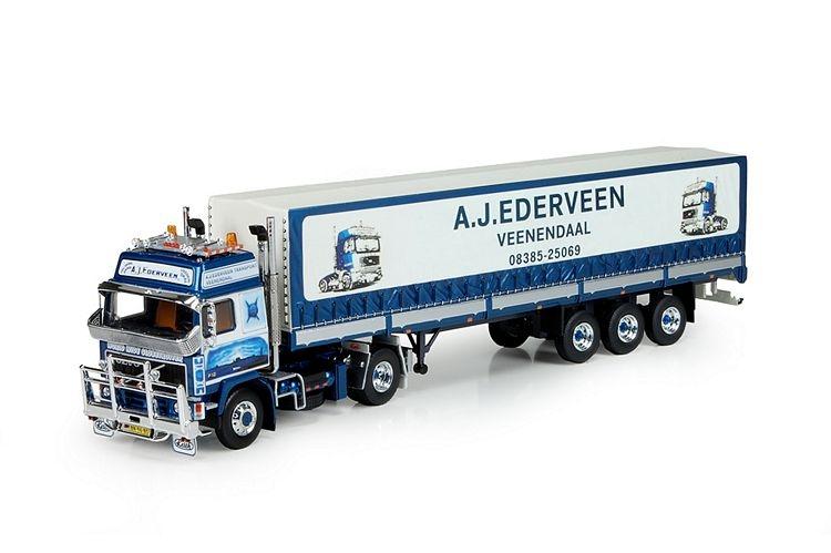 Volvo F12 4x2  Plane Auflieger Ederveen A J