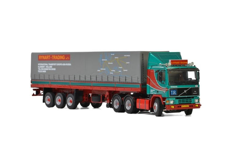 Volvo F12 Classic Curtain Side  Rynart Trading