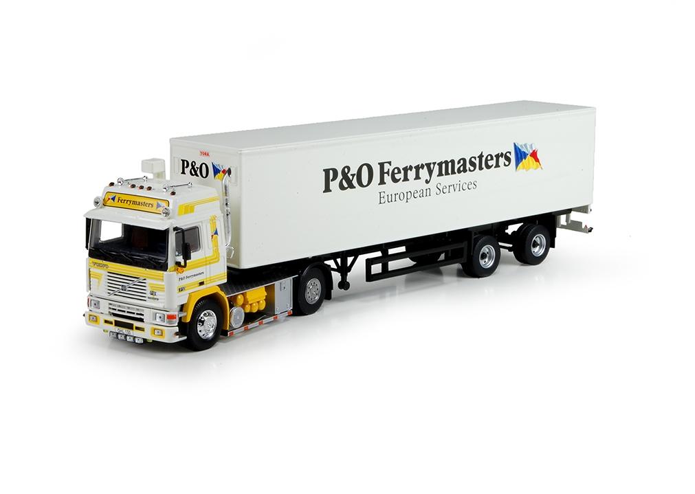 Volvo F12 Globe.  reefer semitrailer Ferrymasters