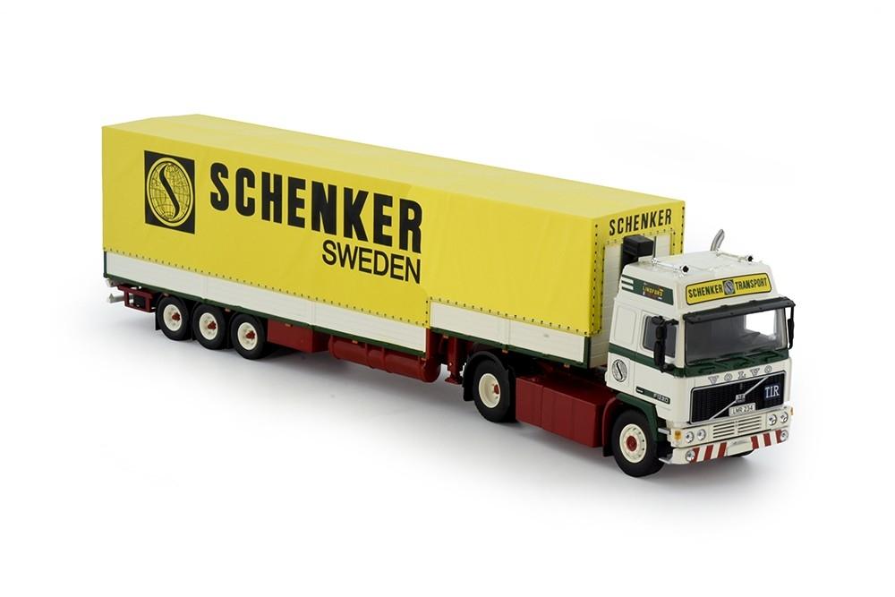Volvo F12 Globetrotter  klassischem aufliege Walter lindfors