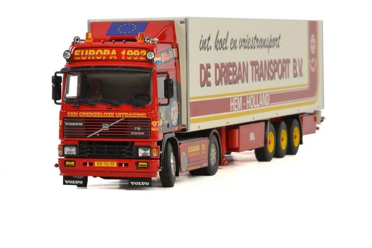 Volvo F12 Globetrotter Reefer  De Drieban Transport