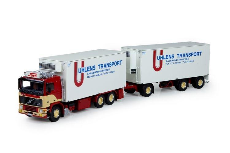 Volvo F12 Haengerzug Sties Uhlens Transport