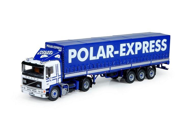 Volvo F12  Klassik Planentrailer Polar Express