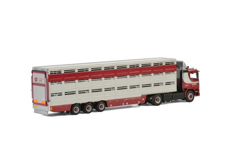 Volvo F12 Livestock Trailer  A. van Kempen