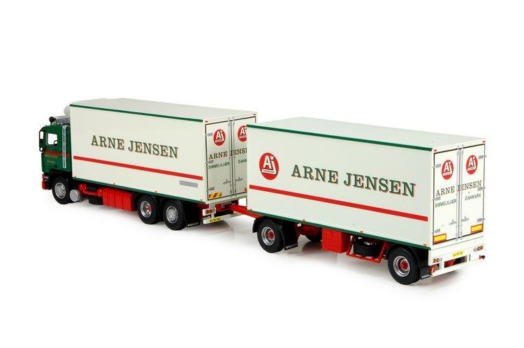 Volvo F12 Motorwagen 2 Achs Anhaenger Jensen Arne